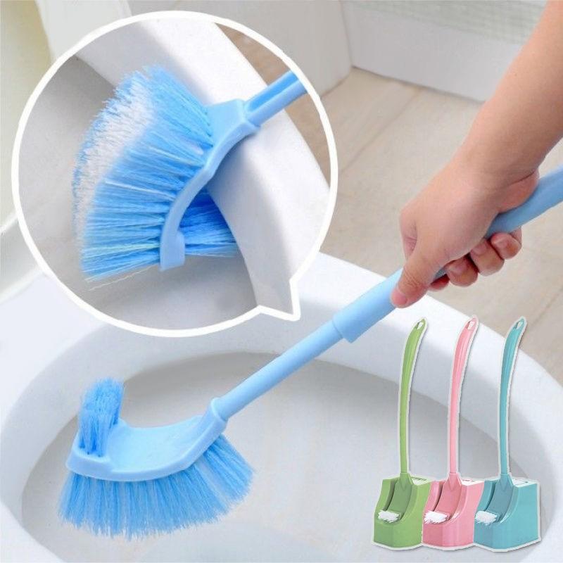 【券后价:7.16元】 居家日用双面加厚长柄去死角马桶刷厕所刷子